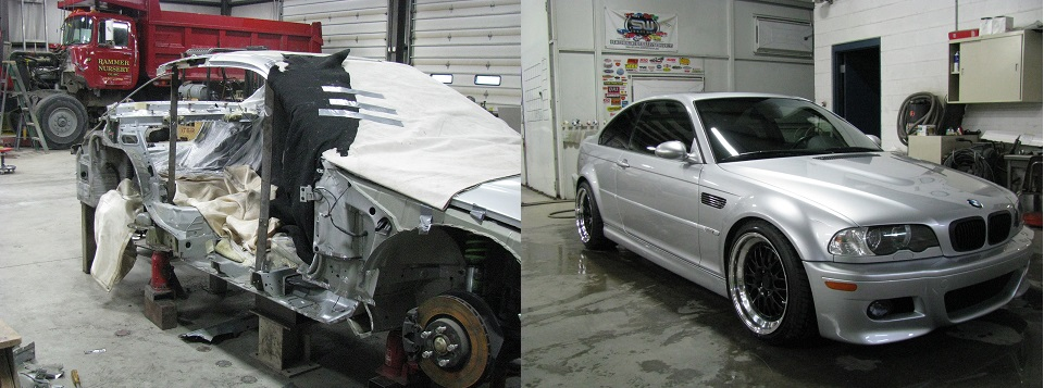 BMW Collision Shops