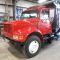 International Roofing Company Dump & Scissor Lift Truck